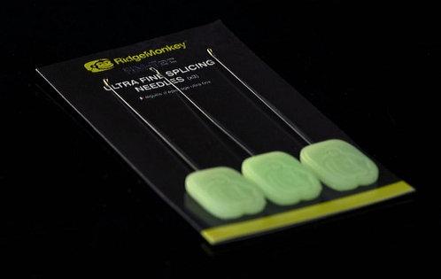RidgeMonkey - Ultra Fine Splicing Needles x3