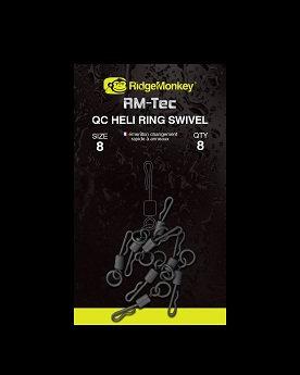 RidgeMonkey - RM-Tec Quick Change Heli Ring Swivel