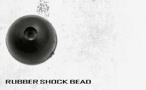 Black Cat Perlas Rubber Shock Bead - 8mm
