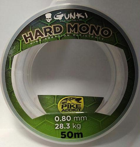 Gunki Hard Mono -0.8mm - 28.3Kg - 50mts