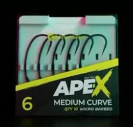 RidgeMonkey - Anzuelos Ape-X Medium Curve