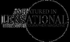 Lensational model and photographer magazine