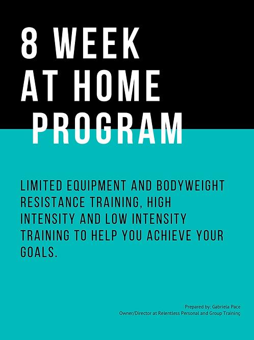At Home LimitedEquipment / Bodyweight Program