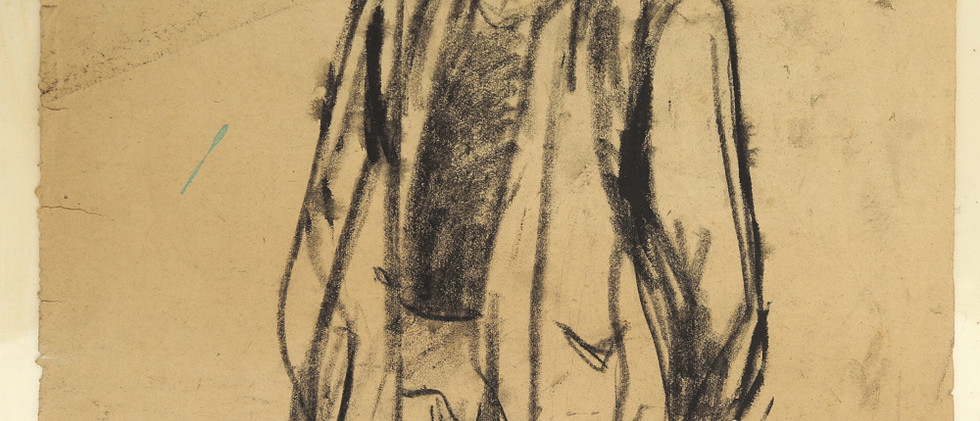 Sketch of a farmer in Shaoxing
