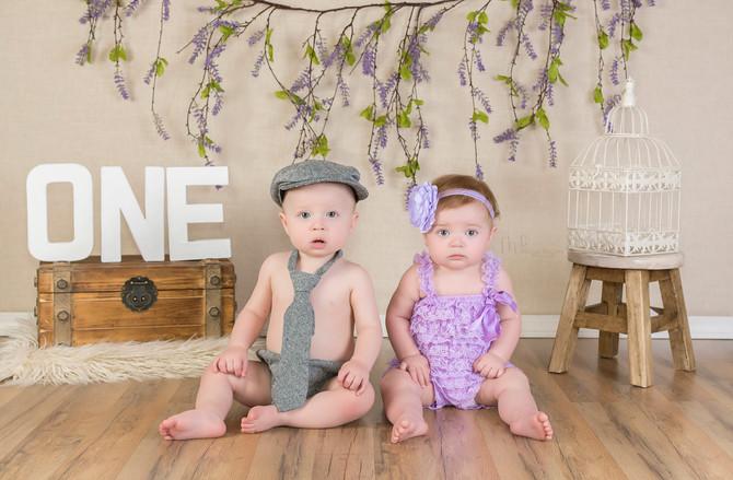Berry cute twins
