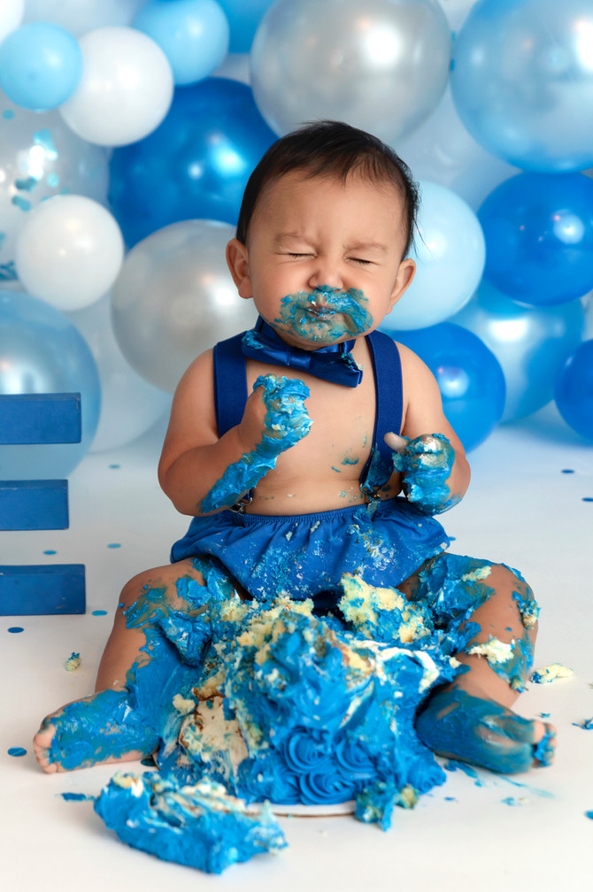 Tips for making your baby's cake smash a smashing success!
