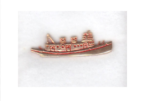 Solid Brass Boat Pin
