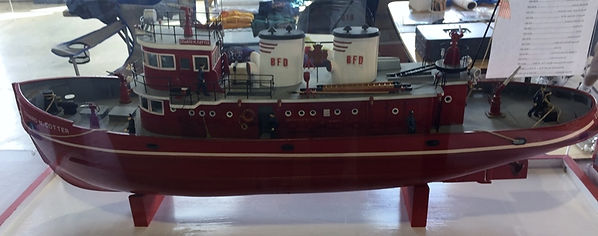 Fireboat Cotter Model