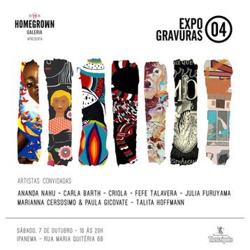 Expo Gravuras 04 - Homegrown Galeria Ipanema