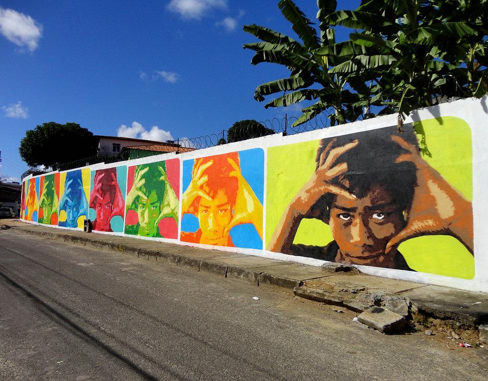 stencil mural, stencil graffiti, stencil art, stencil masters, stencil, ananda nahu, izolag, firme forte records, firme forte, thomas tham, brazilian art, art, muralism, muralismo, mural brasil, muralist, brazilian muralist, muralism painting