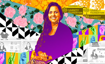 Global teacher Prize 2020: Ananda representa Doani  em arte para Varkey Foundation