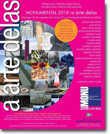 Monumental 2018 - Arte na Marina da Gloria, Rj