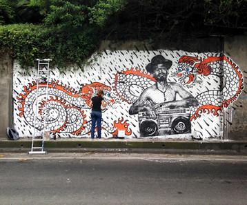 O Ultimo Mural da Firme Forte Records em 2014