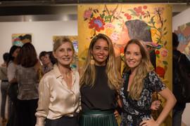 Helena Maggioni, Ananda Nahu & Lilian Gavillion