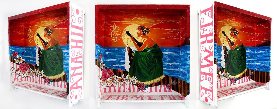 Ananda Nahu - boxsett cancao para o mar 049 x 046 x 016 cm