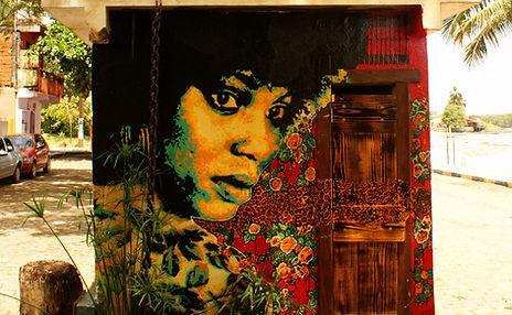 Posterart, poster art, graffiti arte urbana, street art, streetart, arte carioca, arte de rua, arte, ananda nahu, anahu, firme forte records,itacare, bahia, colagem