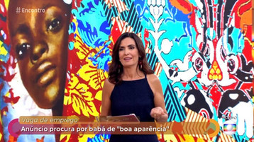 Encontro com Fatima Rede Globo TV