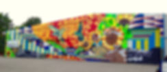 street art bristol, ananda nahu, anahu, female art, tropical art, powerful graffiti, powerful art, talent artist, arte urbana, streetart england, urban art,