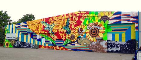 ananda nahu, anahu, ricky flores, south bronx, graffiti, street art, spray cans, montana mtn, arte urbana, new york city, new york, urban art, the point, stencil, dragon, silver dragon, puerto ricans, puerto rico, muralism, mural,