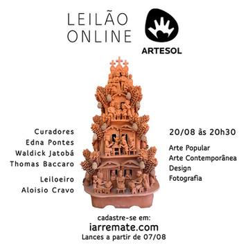 Leilão Beneficente da Artesol