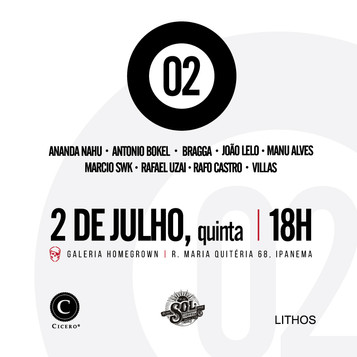 "Galeria Homegrown apresenta: ""02_expo gravuras 2015"""