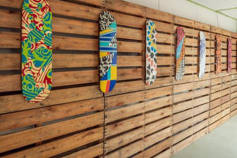 Skates customizados da Ananda Nahu