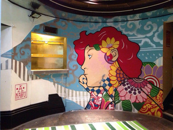 Exclusive Mural for the New home of Vamos Festival in Newcastle-UK!