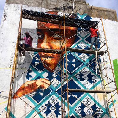 Inicio do Mural