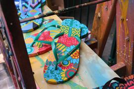 Sandalias feita por Ananda Nahu