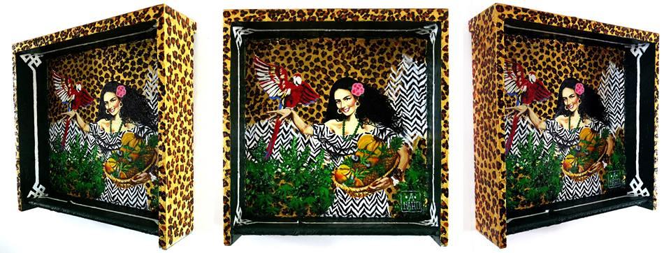 anand anahu - boxsett  tropical - 043 x 042 x 012 cm