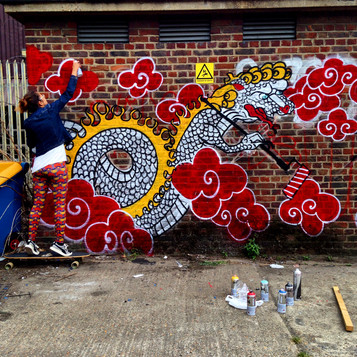 Street Art attack at London Streets!
