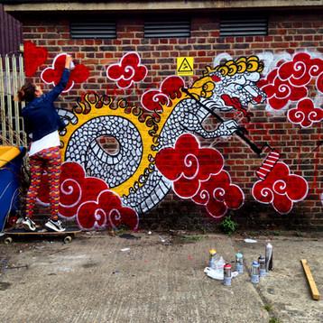 Street Art attack at London Streets!