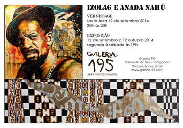 Exposição na Galeria 195 - Itacaré - BAHIA