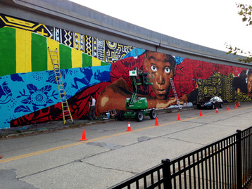 Channel 3: Mural project brings attention to Ohio City