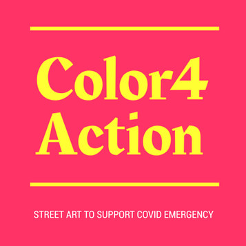 COLOR 4 ACTION: Street art in support of the Covid emergency
