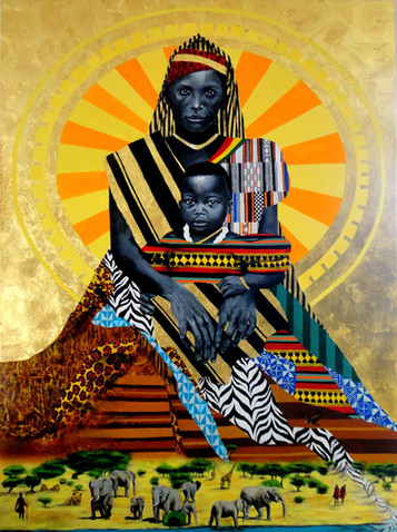 Painting for The United Nations ( UN ) - Black Consciousness
