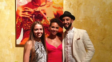 Meeting Swizz Beatz and Alicia Keys