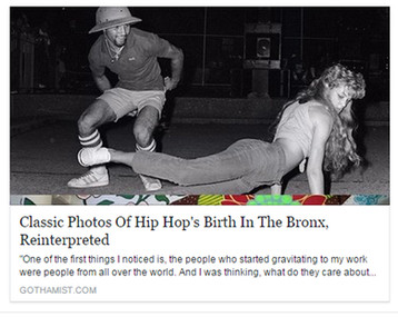 FACES FROM THE BLOCK AT GOTHAMIST : Classic Photos Of Hip Hop's Birth In The Bronx, Reinterprete