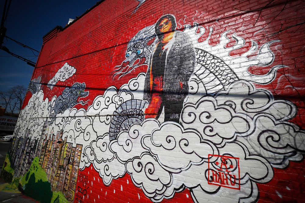 ANANDA NAHU YVETTE MURAL'S AT SOUTH BRONX NEW YORK CITY