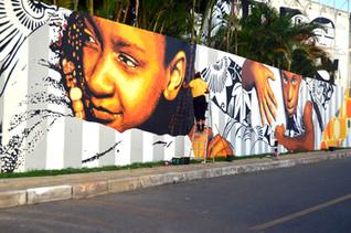 Ananda Nahu Mural Macaco Gordo