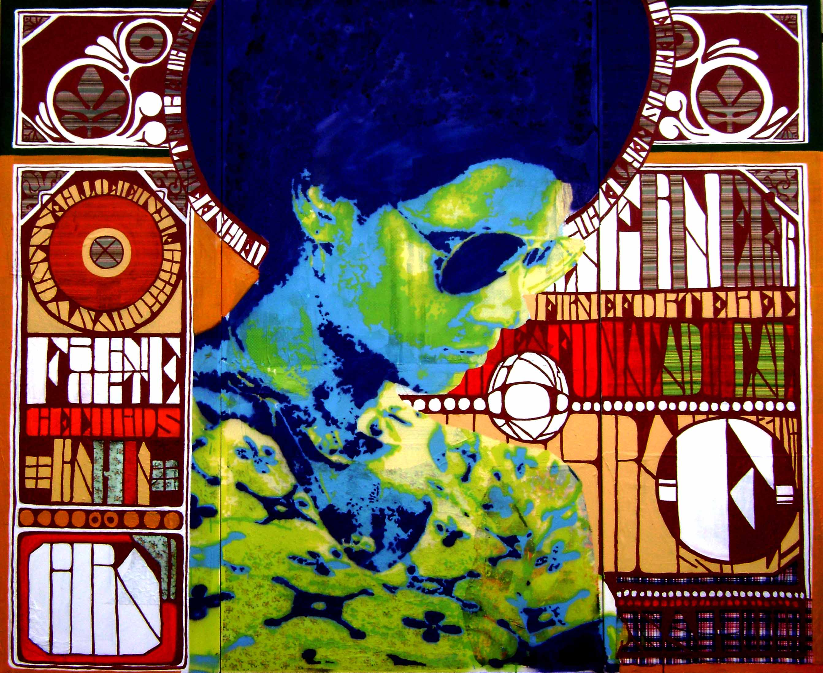 ANANDA NAHU  Black Poster n1 180x220