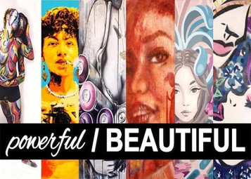 WALL WORKS Gallery presents: powerful / BEAUTIFUL
