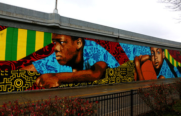 Cleveland Magazine - A New Ohio City Mural Paints a Community of Togetherness