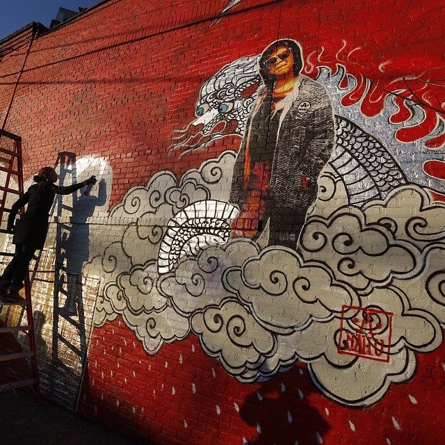 The Point Graffiti South Bronx
