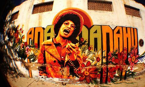 street art | urban art | arte de rua | muralismo | brazilian street art | female artist | angela davis