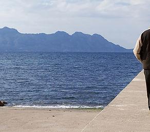 Ein Spaziergang auf dem Pier