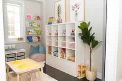 Book nook & storage
