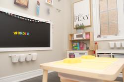 Be in Wonder chalkboard