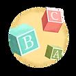 Cubos del alfabeto