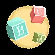 Cubos de alfabeto